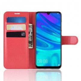 Funda Libro Huawei P30 Pro Soporte Roja