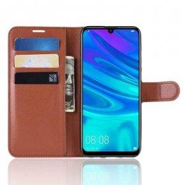 Funda Libro Huawei P30 Pro Soporte Marron
