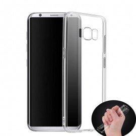 Funda Samsung Galaxy S8 Gel Transparente Mas fina del Mundo