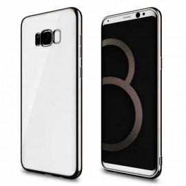 Funda Gel Galaxy S8 con bordes Negros