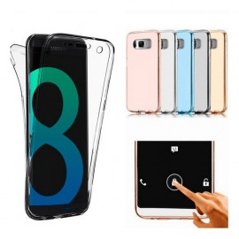 Funda Galaxy S8 Plus Doble Cara Full Transparente