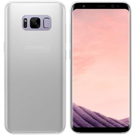 Funda Gel Samsung Galaxy S8 Plus Flexible y lavable