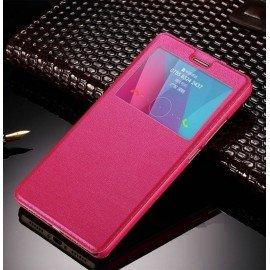 Funda Flip Ventana Huawei P10 Plus Rosa