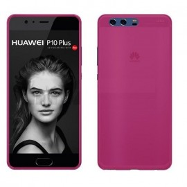 Funda Gel Huawei P10 Plus Flexible y lavable Negra