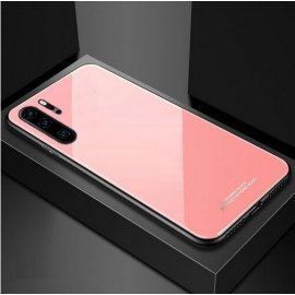 Funda Huawei P30 Pro Tpu Trasera Cristal Rosa