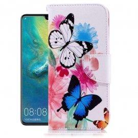 Funda Libro Huawei P30 Pro Soporte Mariposa