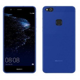 Funda Gel Huawei P10 Lite Flexible y lavable Azul