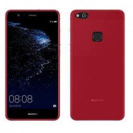 Funda Gel Huawei P10 Lite Flexible y lavable Roja