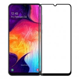 Protector Pantalla Cristal Templado Samsung Galaxy A40 Negro