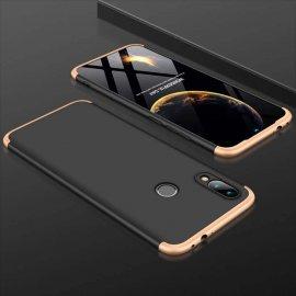 Funda 360 Samsung Galaxy A40 Negra y Oro