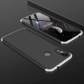 Funda 360 Samsung Galaxy A40 Negra y Gris