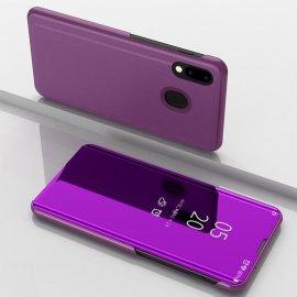 Funda Libro Smart Translucida Samsung Galaxy A40 Lila