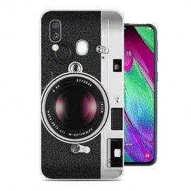 Funda Samsung Galaxy A40 Gel Dibujo Camara