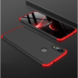Funda 360 Xiaomi Mi Play Roja y Negra