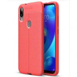 Funda Xiaomi Mi Play Tpu Cuero 3D Roja
