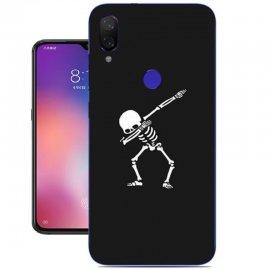 Funda Xiaomi Mi Play Gel Dibujo Esqueleto
