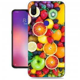 Funda Xiaomi Mi Play Gel Dibujo Frutas