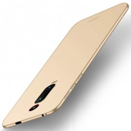 Funda Gel Xiaomi Redmi K20 Flexible y lavable Mate Dorada