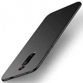 Funda Gel Xiaomi Redmi K20 Flexible y lavable Mate Negra