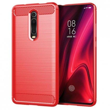 Funda Xiaomi Redmi K20 Tpu 3D Roja