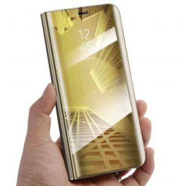 Funda Libro Smart Translucida Xiaomi Redmi K20 Dorada