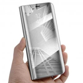 Funda Libro Smart Translucida Xiaomi Redmi K20 Plata