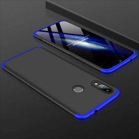 Funda 360 Samsung Galaxy A20 Negra y Azul