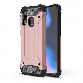 Funda Samsung Galaxy A20 Shock Resistante Rosa