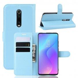 Funda Libro Xiaomi Redmi K20 cuero Soporte Azul