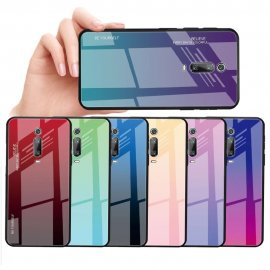 Funda Xiaomi MI 9 T Tpu Trasera Cristal