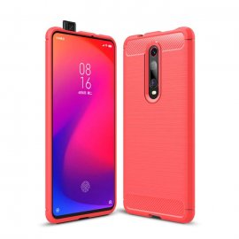 Funda Xiaomi Mi 9T Tpu 3D Roja