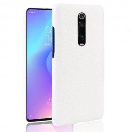 Carcasa Xiaomi MI 9T Cocodrilo Blanca