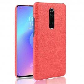 Carcasa Xiaomi MI 9T Cocodrilo Roja