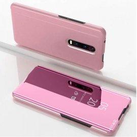 Funda Libro Smart Translucida Xiaomi MI 9T Rosa