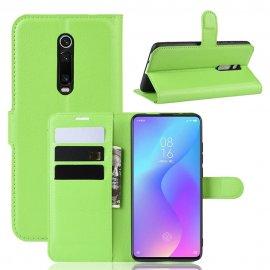 Funda Libro Xiaomi MI 9T Soporte Verde