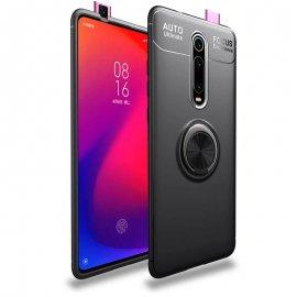 Funda Xiaomi MI 9T Anillo Soporte Negra