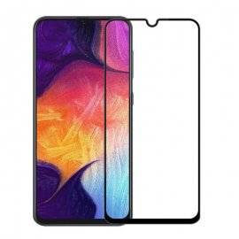 Protector Pantalla Cristal Templado Samsung Galaxy A70 Negro