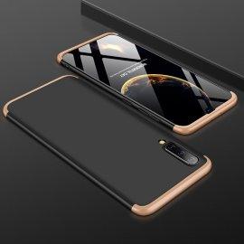 Funda 360 Samsung Galaxy A70 Dorada y Negra