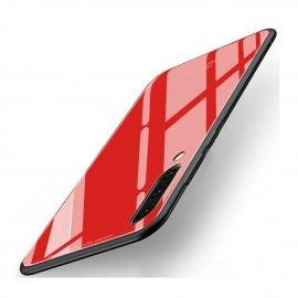 Funda Samsung Galaxy A70 Tpu Trasera Cristal Roja