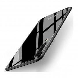 Funda Samsung Galaxy A70 Tpu Trasera Cristal Negra