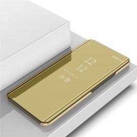 Funda Libro Smart Translucida Samsung Galaxy A70 Dorada