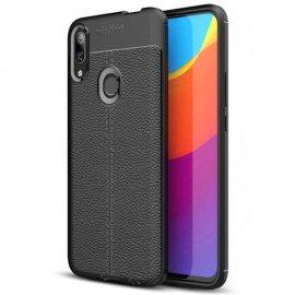 Funda Huawei P Smart Z Tpu Cuero 3D Negra