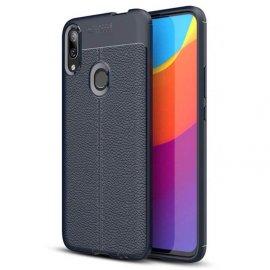 Funda Huawei P Smart Z Tpu Cuero 3D Azul