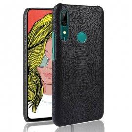 Carcasa Huawei P Smart Z Cocodrilo Negra