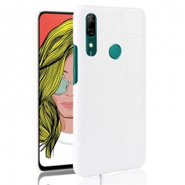 Carcasa Huawei P Smart Z Cocodrilo Blanca