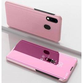 Funda Libro Smart Translucida Huawei P Smart Z Rosa