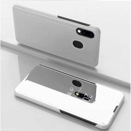 Funda Libro Smart Translucida Huawei P Smart Z Plata