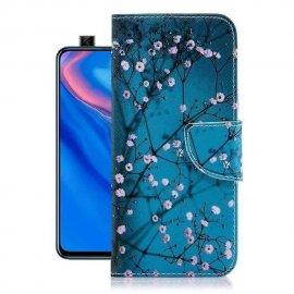 Funda Libro Huawei P Smart Z Soporte Blossom