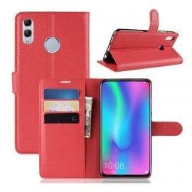 Funda Libro Huawei P Smart Z Soporte Roja