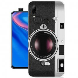 Funda Huawei P Smart Z Gel Dibujo Camara
